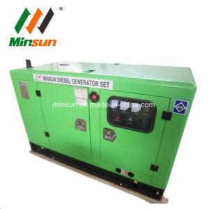 De stille Geluiddichte Diesel van de Generator van het Type 15kw 18kVA van Luifel