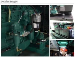 8kVA - 2050kVAからCummins Engineのディーゼル発電機によって動力を与えられる
