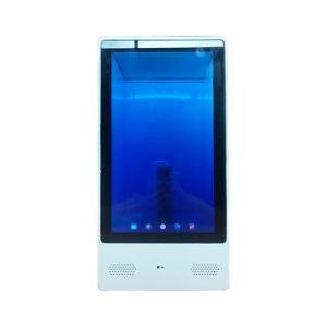 55 polegadas tablet Android OLED transparente quiosques Tela sensível ao toque do visor