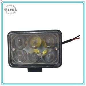 6 Светодиодные индикаторы герметичный квадратные светодиодные фары дальнего света