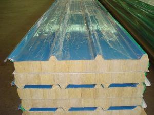 50mmプレハブの家のための標準カスタマイズされたサンドイッチパネルの屋根シート