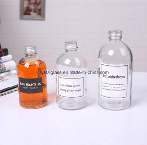مستديرة تجمّد عصير زجاجيّة بوسطن زجاجة مع غطاء