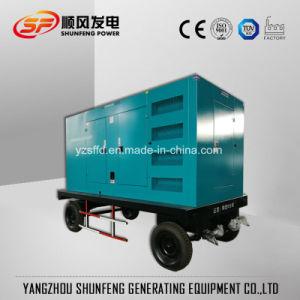 Diesel van de Stroom van de aanhangwagen 63kVA 50kw de Stille Cummins Fabriek van de Generator