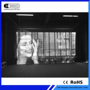 P7.81/7.81mm couleur haute définition LED CMS affichage Transparent