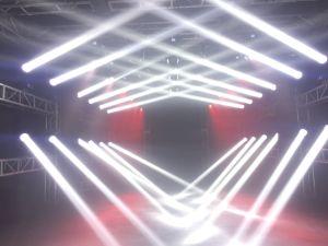 Het Stadium die van de Vlek van DJ 260W het HoofdLicht van de Stroboscoop van de Straal bewegen