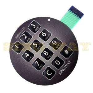 SMTアセンブリ膜スイッチのためのOEM PCB回路