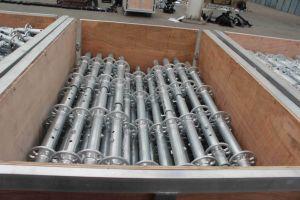 Galvanisé à chaud Layher échafaudage pour la Construction avec certificat FR12810