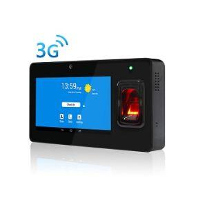 sistema terminale Android di presenza di tempo dell'impronta digitale 3G con WiFi e Bluetooth