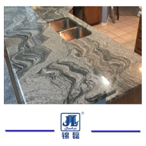 Natuurlijk Opgepoetst Burggraaf White Granite voor Countertops van de Keuken en van de Badkamers/Bevloering/Plak/Tegels/Muren/het BuitenBekledingspaneel van de Muur/De Projecten van de Bouw