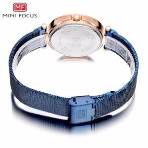 디자인 호화스러운 일본 석영 Movt 새로운 메시 싼 가격을%s 가진 강철 결박 숙녀 시계