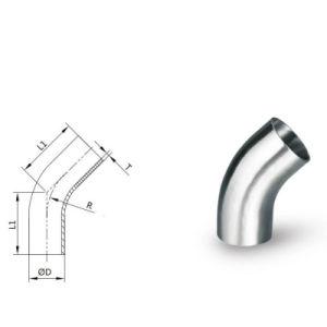 304/316L Amse la línea de accesorios de tubería, incluyendo la t/abrazadera/sello/codo