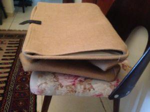 Grand tissu pliable de jute d'organisation de stockage de produits divers Panier Bin