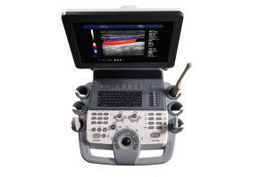 Equipamentos médicos 4 conectores de sonda 4D da máquina de ultra-sonografia Doppler em Cores Mslcu30plus