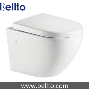 Эффективность воды туалетов с безободковые системы (216R-W)