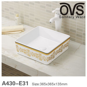 Heißer Verkaufs-keramische Schrank-Bassin-Wäsche-Bassin-Badezimmer-Eitelkeit