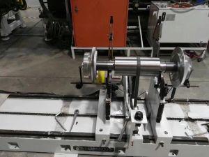 Máquina de equilibrio dinámico del rotor del motor