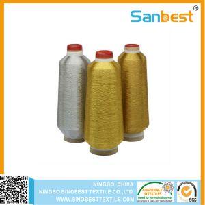 150d/1 металлическая нить с вышивкой полиэстера или района Core пряжа