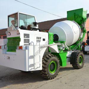 Le béton mélangeur automotrice diesel Camions avec 3.2Cbm Tambours rotatifs