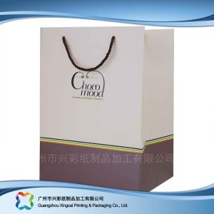 Kundengerechter Papierbeutel für kosmetischen Kleid-Nahrungsmittelgeschenk-Duftstoff (xc-bgg-006)