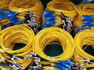 Sc / FC / St / LC ABS Box 0,9 / 2,0 / 3,0 mm de fibra óptica del acoplador