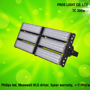 135lm/W 5year Tunnel-Flut-Licht der Garantie-100With200With300With400W LED