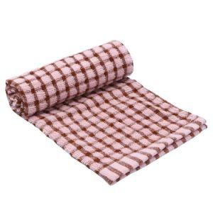 Tissu de coton à 100 % fils teints Vérifier serviette