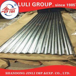 Strato ondulato duro pieno del tetto dello zinco del metallo galvanizzato S550gd+Z dei materiali da costruzione
