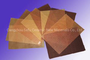 La fibre de verre pour la filtration du filtre à mailles de fer aluminium coulée en acier