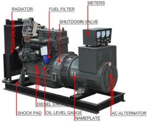 Phase unique 37,5 kVA Diesel Generator