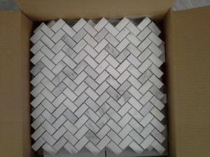 Poli de statues de marbre blanc Oriental/pour les carreaux de marbre blanc/dalle/escalier/Bande de roulement/Baluster/dissipateur/Monument/Vase/bassin