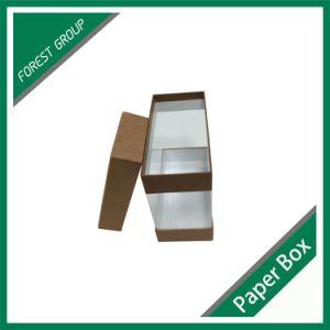 Creativo progettare il contenitore per il cliente di regalo di legno del PVC del documento