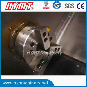 CK7520inclinado metal horizontais tornos CNC cama torno mecânico