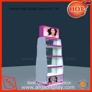 Socle en bois d'affichage Cosmétiques Les cosmétiques étagère d'affichage