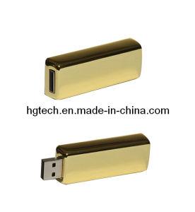 陸軍少尉の階級章形の金属USBのフラッシュ棒(HG-008)
