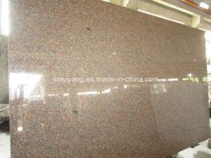 G562 Plak van het Graniet van de Esdoorn de Rode/Roze voor Countertops en Tegel
