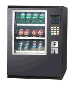 Мини-автомат с закусками, канистры, напитки