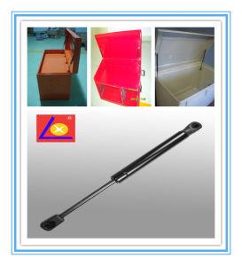 Amortiguador de gas para caja de herramientas en la carretilla