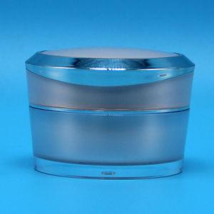 50ml Crema para la cara cosméticos de Jar Jar, Recipiente de plástico