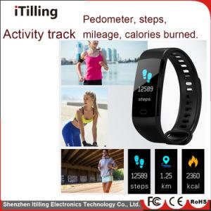 La promoción de la moda de la actividad de la pantalla táctil TFT en color Tracker impermeable Bluetooth Fitness Sport Smart Brazalete Pulsera Reloj Teléfono