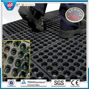 Anti-Fatigueオイル抵抗のゴム製マットか酸の抵抗力があるゴム製マット