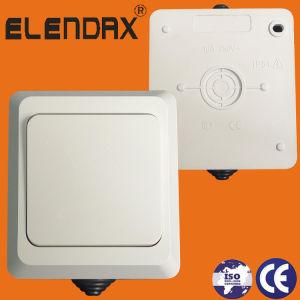 В европейском стиле IP 54 для установки на поверхность стены выключатель (S5001)