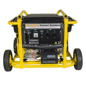 5.5kw/5.5kVA/6500 50Hz/60Hz 110V/220V/380Vの携帯用ガソリンかガソリン発電機