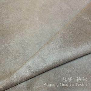 El tratamiento de Oro de la lámina de tejido de gamuza para sofá