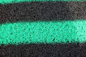 Couvre-tapis de vente chaud de PVC 2017 avec le support noir de mousse (3G-3S)