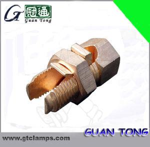Ligne en cuivre ou laiton Appuyez sur le connecteur du connecteur de boulon fendu