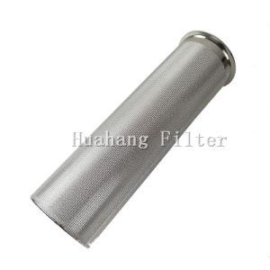 Aço inoxidável sinterizada de malha de metal do cartucho do filtro do filtro de material fundido