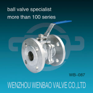 V Type Flanged Ball Valve con Direct Mounting Pad