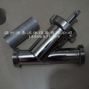 Sanitaire het y-Type van Roestvrij staal Zeef