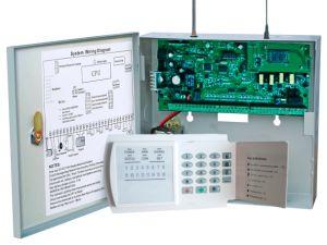 ホームセキュリティーGSM PSTNの16のワイヤーで縛られたゾーン(GSM-816-16R)の無線ワイヤーで縛られた警報システム