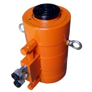 150 toneladas de acción simple plano gato hidráulico del cilindro de doble acción